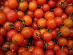 Cherry tomato jam with cinnamon, a farm favourite